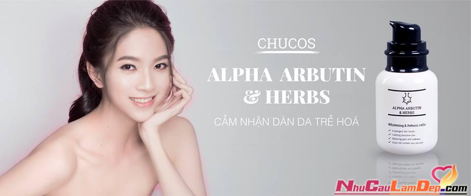 Serum Thailand chính hãng - Arbutin Serum Chucos Serum dưỡng trắng da