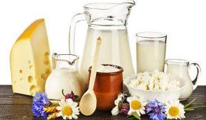 Sữa và các sản phẩm từ sữa giúp giảm mỡ bụng dưới rất tốt. Ảnh: Internet