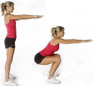 giam-can-bang-bai-tap-squat-tai-nha-body-weight-squats Ảnh minh họa: Internet