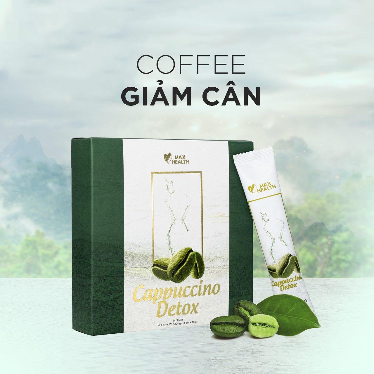 Coffee Cappuccino Detox Cà Phê Xanh Giảm Cân Matxi Corp